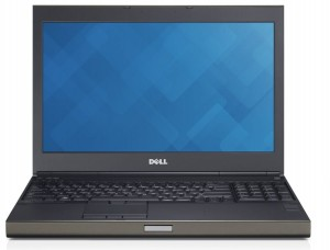 Dell PRECISION M4800 i7 8GB 256GB SSD Quadro K1100M WIN 10 PRO