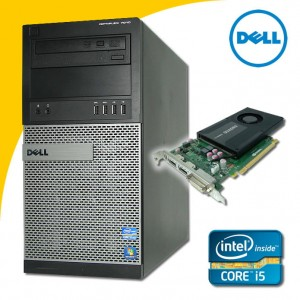 DELL Optiplex 7010 i5-3470 QUAD 8 GB K2000 CAD Win 7 Pro