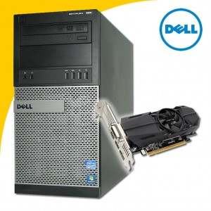 DELL Optiplex 990 i5-2400 QUAD 8 GB GTX 1050 DO WIEDŹMINA 3