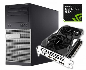 DELL 9020 TOWER i5-4590 8G 500G RAID NOWA GTX 1650 !