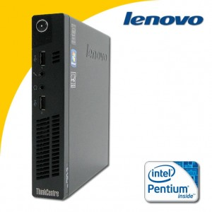 LENOVO M72e Dual Core G2020T MINI PC 128 GB SSD Win 7