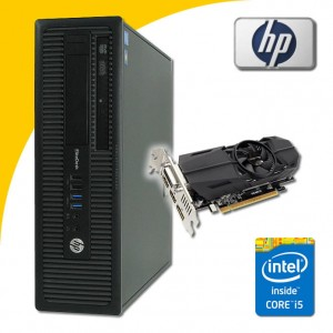 HP Elite 800 G1 i5-4570 QUAD 8 GB GTX 1050 1 TB Win 7 Pro