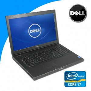 Dell Precision M6800 i7-4810MQ 32 GB 750 GB M6100 Win 10 Pro